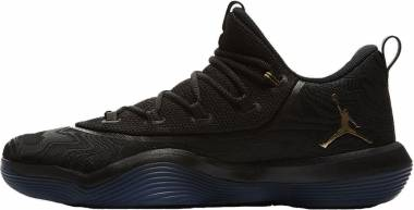 Jordan Super.Fly 2017 Low - Multicolore Black Metallic Gold 021 (AA2547021)