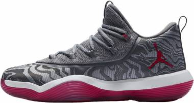 Jordan Super.Fly 2017 Low - Multicolore (Wolf Grey/Gym Red-co 004)