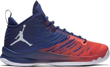 Jordan Super.Fly 5 - Azul (Deep Royal Blue / White / Infrared 23)