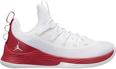 Jordan Ultra.Fly 2 Low - White/White-gym Red (AH8110101)