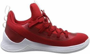 Jordan Ultra.Fly 2 Low - Rouge Gym Redblackwhite 601