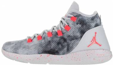 Jordan Reveal Premium - Gris Wolf Grey Infrared 23 Black