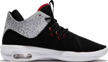 Air Jordan First Class - Black Gym Red White Matte Silv