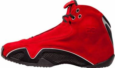 Air Jordan 21 - varsity red, metallic silver-black