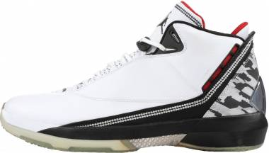 Air Jordan 22 - White/Varsity Red-black (315299161)