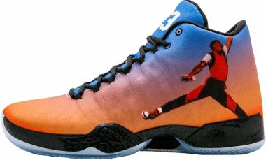 Air Jordan 29 - Team Orange, Gym Rd-gm Ryl-blck