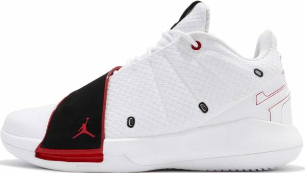 get cheap a82e2 e8d7d Jordan CP3 11 White University Red-black