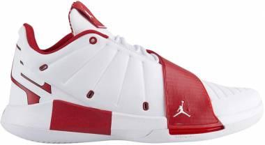 Jordan CP3 11 White/Gym Red Men