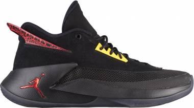 Jordan Fly Lockdown - Black Black Varsity Red Dandelion 012 (AJ9499012)