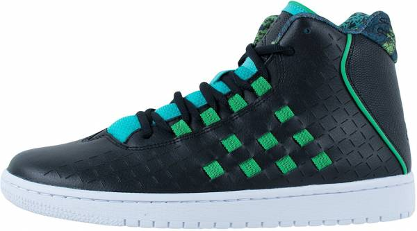 purchase cheap 21be9 763be Jordan Illusion Black Green