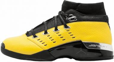 Air Jordan 17 Low - black, lightning