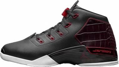 Air Jordan 17 Retro - Black/Gym Red-white