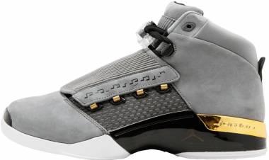 Air Jordan 17 Retro - cool grey, metallic gold-black (AH7963023)