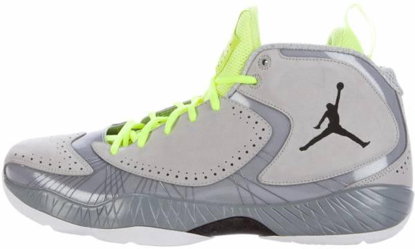 Air Jordan 2012 Wolf Grey, Black-silver Ice -Wht
