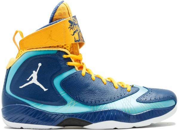 Air Jordan 2012 - Storm Blue, White-td Pool Blue
