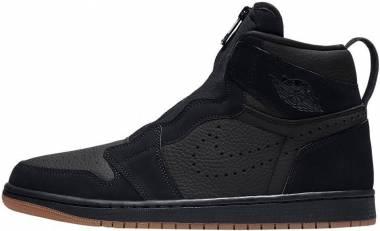 Air Jordan 1 High Zip - Black (AR4833002)