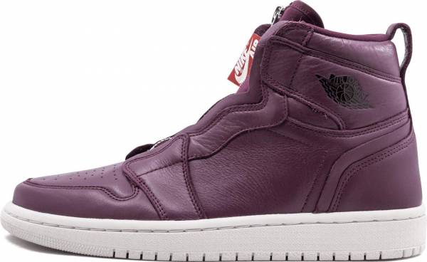Air Jordan 1 High Zip - Bordeaux/Black-phantom