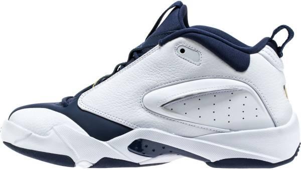 Jordan Jumpman Quick 6 - White/Dark Concord/Black Sneaker (AH8109104)