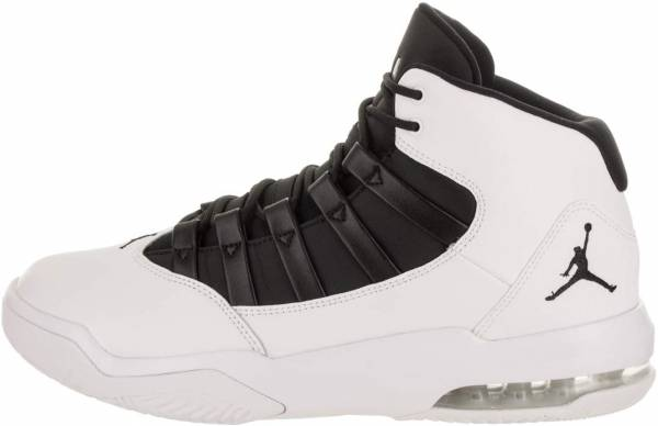 sports shoes 4bf35 0192a Jordan Max Aura White Black Black