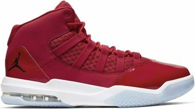 Jordan Max Aura - Gym Red Black White Ice