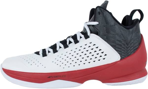 Jordan Melo M11 - 101-white Black Gym Red (716227101)