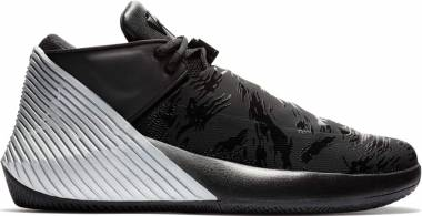 Jordan Why Not Zer0.1 Low - BLACK/BLACK-METALLIC SILVER-WHITE