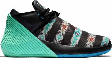 Jordan Why Not Zer0.1 Low - Black/Emerald Rise-dark Turquoise-varsity Red (BQ2383001)