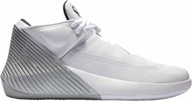 Jordan Why Not Zer0.1 Low White/Black-metallic Silver Men