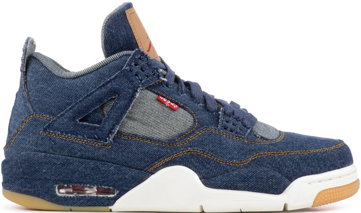 x Air Jordan 4 Blue Denim