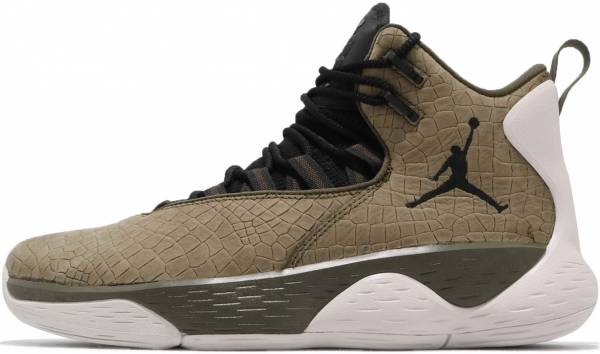 Jordan Super.Fly MVP Olive Canvas/Black-light Bone