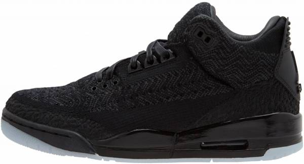 Air Jordan 3 Flyknit black, black-anthracite