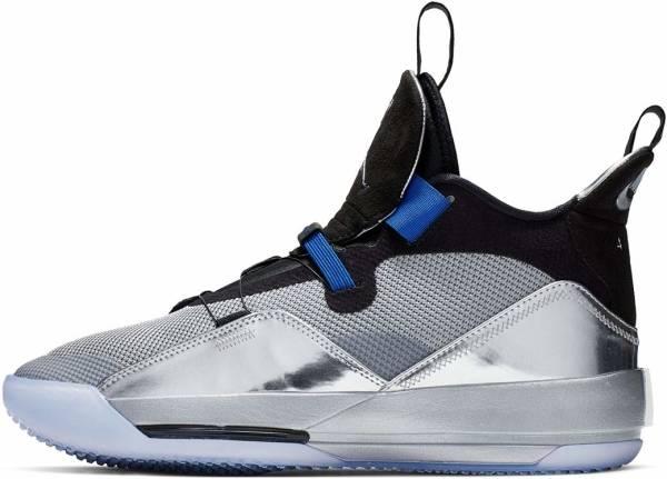 Air Jordan 33 - Silver/Black (AQ8830005)