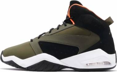 Jordan Lift Off - Olive Canvas / Cone-black-white
