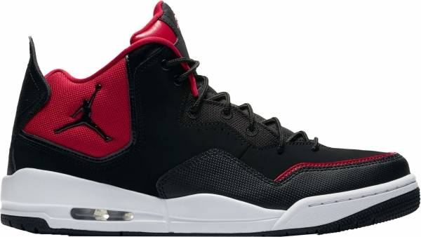 Jordan Courtside 23 - Black Black Black Gym Red White 006 (AR1000006)