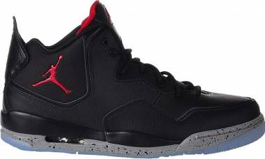 Jordan Courtside 23 - Black Gym Red Particle Grey