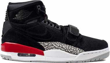 Air Jordan Legacy 312 - Black/Black/Fire Red (AV3922060)