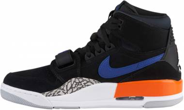 Air Jordan Legacy 312 - Black, Rush Blue, Brilliant Orange (AV3922048)