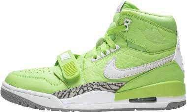 Air Jordan Legacy 312 Ghost Green , White - Cement Grey Men
