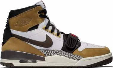 37494d94d1c2e2 Air Jordan Legacy 312 White Baroque Brown-wheat-varsity Red Men