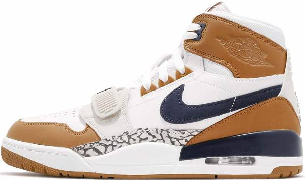 quality design ae165 daf6f Air Jordan Legacy 312 White, Midnight Navy-ginger