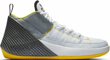 Jordan Why Not Zer0.1 Chaos - White/Particle Grey-black-opti Yellow (BV5498100)