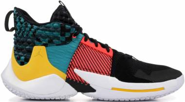 Jordan Why Not Zer0.2 Black, Bright Crimson Men