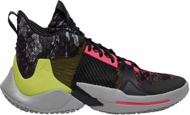 Jordan Why Not Zer0.2 - Light Smoke Grey Cyber Russell Westbrook (AO6219003)