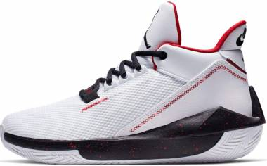 Jordan 2x3 - White Black Gym Red (BQ8737101)