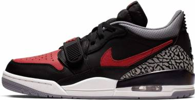 Jordan Legacy 312 Low - Black / Varsity Red-Black-Cement Grey