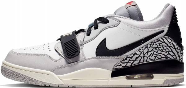 Jordan Legacy 312 Low - Summit White/Fire Red-tech Grey-black