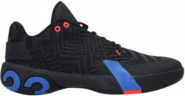 Jordan Ultra.Fly 3 Low - Multicolor (Black / Pacific Blue / Bright Crimson 004)