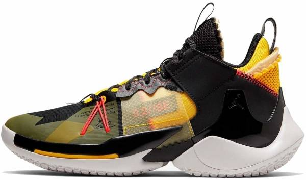 Jordan Why Not Zer0.2 SE - Black Flash Crimson Yellow Vast Gray