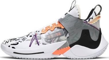 Jordan Why Not Zer0.2 SE - White Orange Pulse Black Particle Grey (AQ3562101)