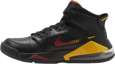 Jordan Mars 270 - Black Black Team Orange Amarillo (CD7070009)